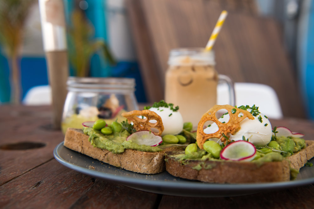 Single Fin Cafe at Surf House is a great place for a Dubai breakfast