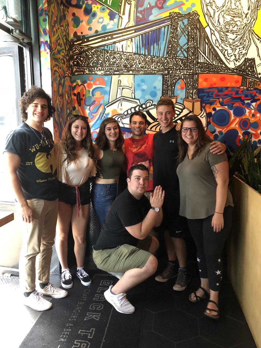 Engagement Interns from Greater Portland Hillel and Oregon Hillel Foundation at Hillel Institute in New York, 2018