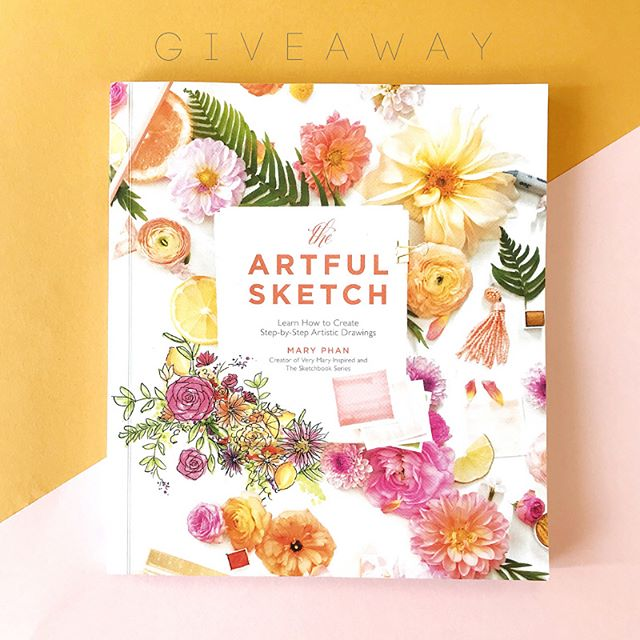 Hey Gang!! I hinted the other day that I teamed up with one of our favorite marker brands on something totally amazing! Today's the day that I get to  announce that It's GIVEAWAY time! If you caught our interview with @copicmarker yesterday (read it now at the link in bio), you may have seen that my new book, The Artful Sketch, hits shelves this upcoming Tuesday, 9/25. In celebration of the book launch we've teamed up with @copicmarker and you can win one before it's available!  We're GIVING AWAY a copy of @theartfulsketch Sketch plus a September #CopicColors Ciao 6-pack.  Here's how to enter:  1. Follow @copicmarker, @thesketchbookseries & @verymaryinspired 2. Like this post 3. Let us know in the comments your favorite thing to sketch!  We'll choose a winner on Tuesday, 9/25. Must be 18+ and live in the USA or Canada to win. This giveaway is in no way affiliated with Instagram.  Good luck!! #illustration #creativeclass #sketchworkshop #wedding #eventdesign #creative #sketch #art #thesketchbookseries #artist #verymaryinspired #iamcreative #stayinspired #showusyoursketches #giveaway #launchday #copicmarkers #copicart