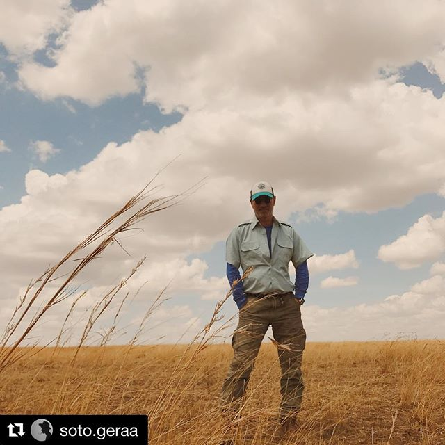 Having a beautiful honeymoon on safari in Kenya. Repost from @soto.geraa.