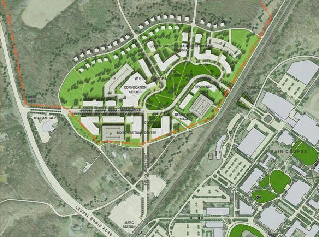 Bowie State Masterplan District Office A D