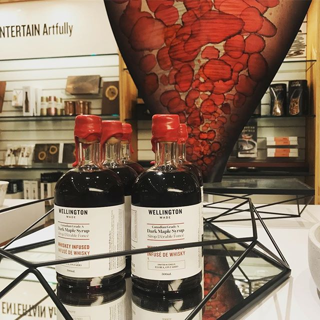With Valentine's Day hours away - our Whiskey Infused Maple will sweeten any heart. Stop by @shop.ago or @honeychurchlane to grab some for your dearest.