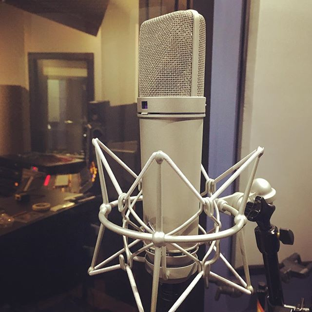 Another great choice for recording just about anything, but especially vocals, our Neumann U87... What's your favorite vocal mic? #chicagomusic #recordingstudio #neumannu87 #neumannmicrophones #recordingvocals