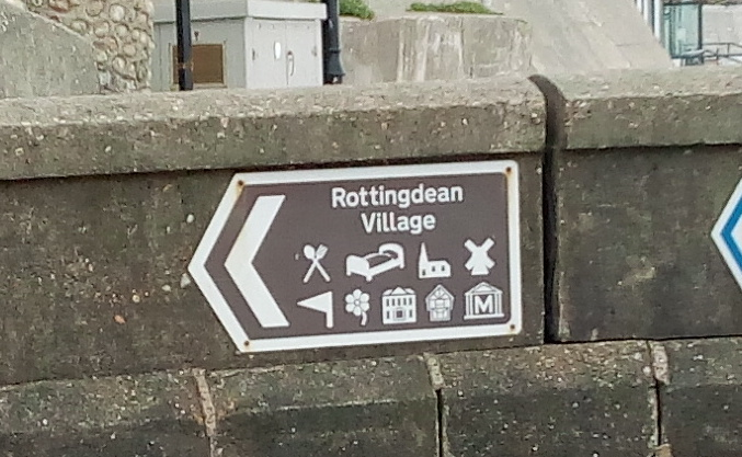 This way to Rottingdean! -