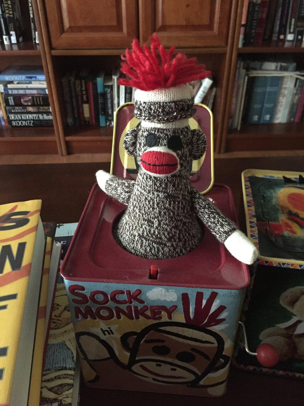Sock Monkey in a Box.JPG