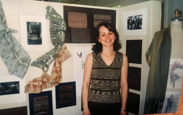 My senior year design show, 1998
