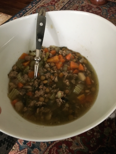3:30pm Lentil Soup (scroll down for recipe)