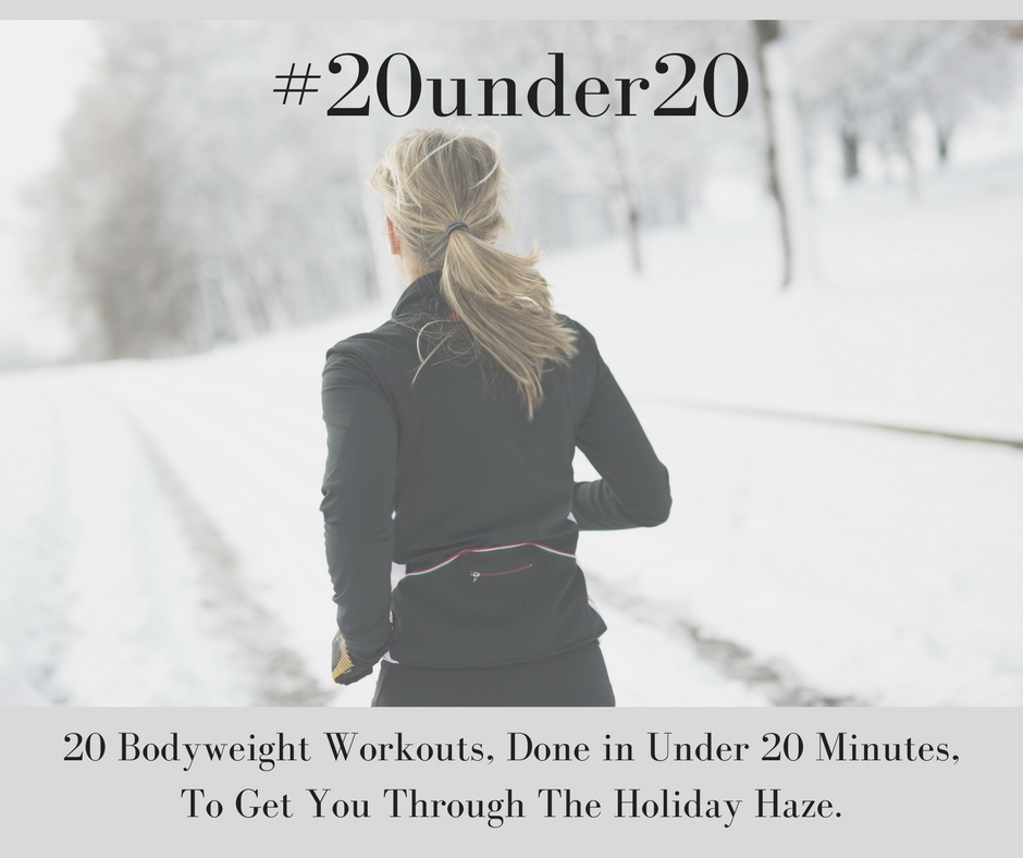 #20under20 is still available! Grab your free workouts  here .   #20under20  will keep you consistent, lean, AND still leave you with time to spend with family and friends celebrating.