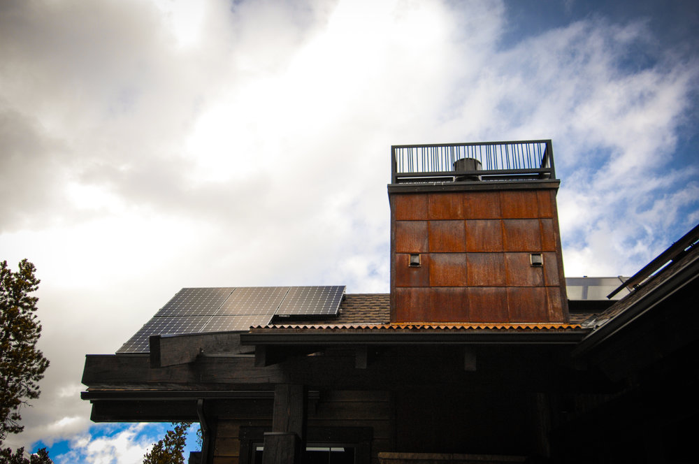 Buffalo Mountain Metals- Chimney Cap & Siding