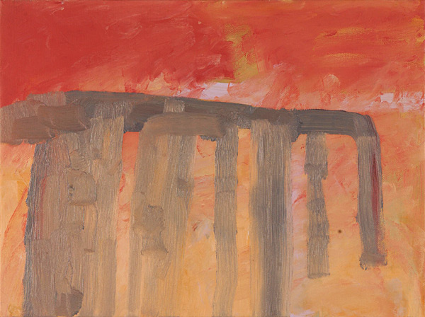 Aqueduct, 2004 oil on canvas, 12 x 16""