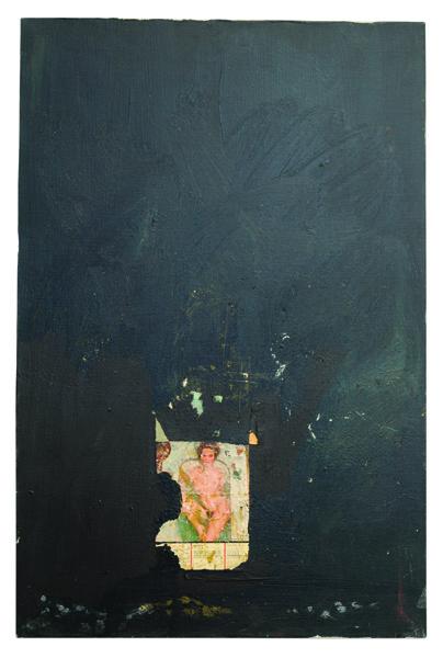 """Bonnie, 1975, acrylic on canvas, 30 x 20"""""""