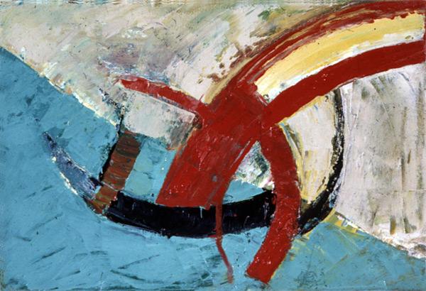 """Venice, 1981, oil on canvas, 8 x 12"""""""