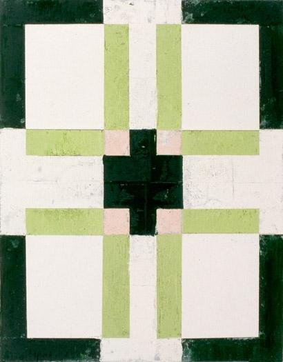 """Clover, 1990, oil on canvas, 14 x 11"""""""