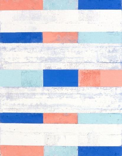 "Stork Club, 1990, oil on canvas, 14 x 11"""