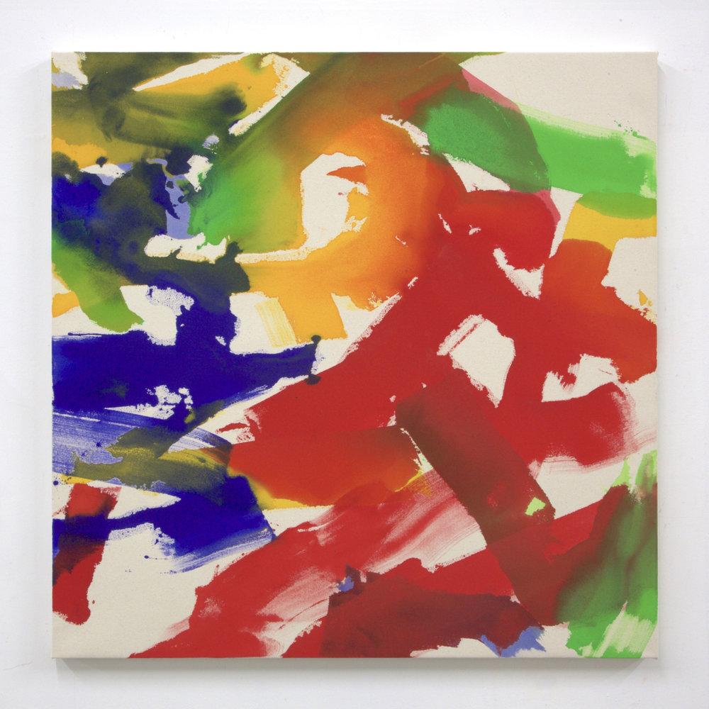 """Summer '16 -5, 2016, acrylic on canvas, 36 x 36"""""""