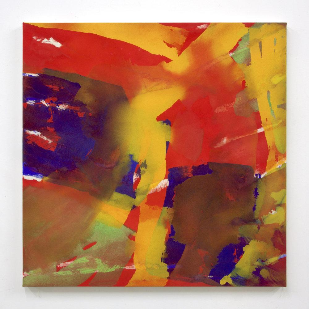 """Summer '16 -2, 2016, acrylic on canvas, 36 x 36"""""""