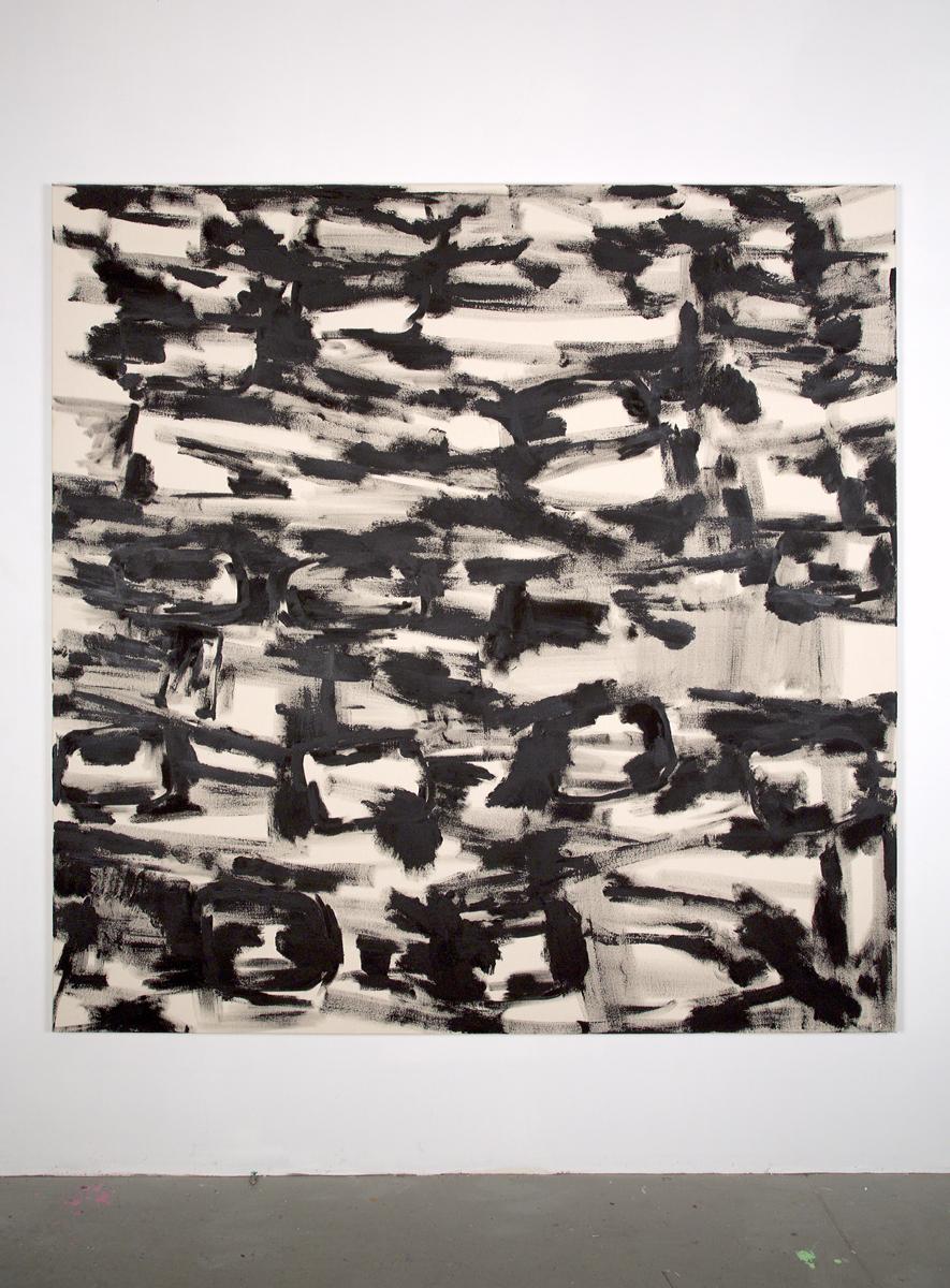 "For Tom, 2012, acrylic on canvas, 80 x 80"""