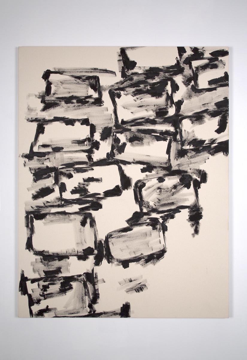 """HF, 2012, acrylic on canvas, 72 x 54"""""""