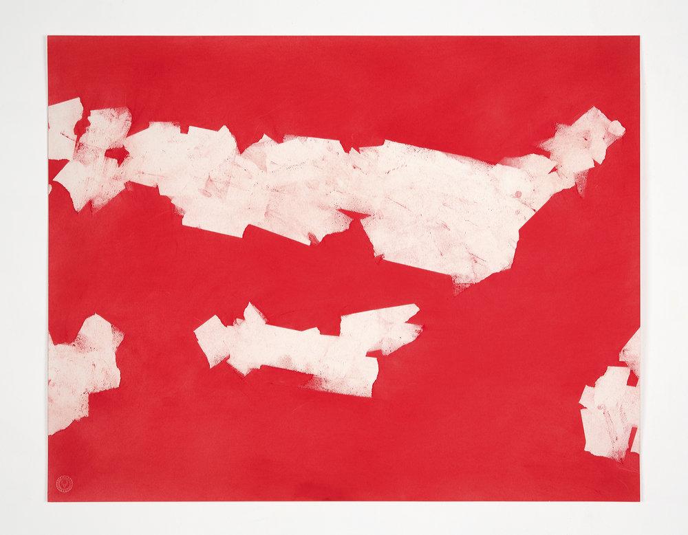 "ut, 2013, pastel on paper, 23 x 29"""