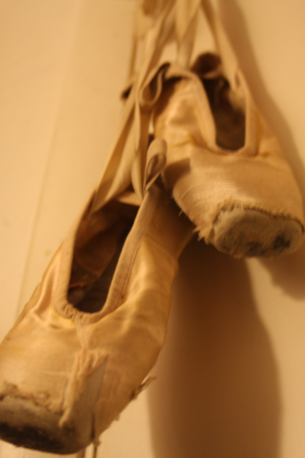 My favorite old pointe shoes