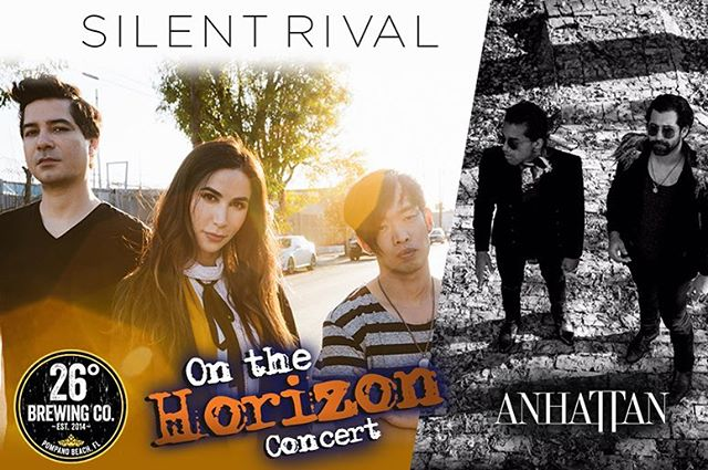 Hello friends!  @1043theshark is putting on a FREE SHOW this Friday, May 25th.  We will be playing with this awesome new band called SILENT RIVAL.  Come see AnhaTTan play some new material live!  See you soon , {Jason, Ru}