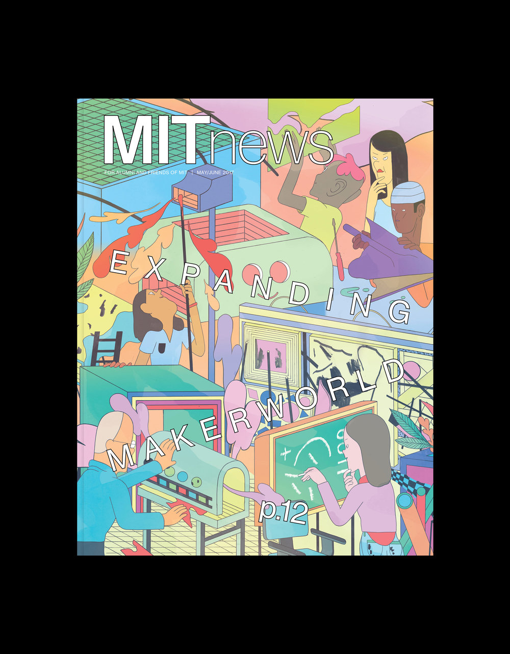 MIT News Cover May/June 2017