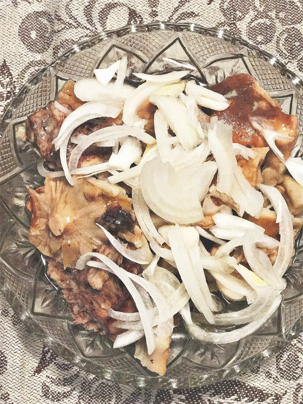 Pickled Mushrooms & Onions