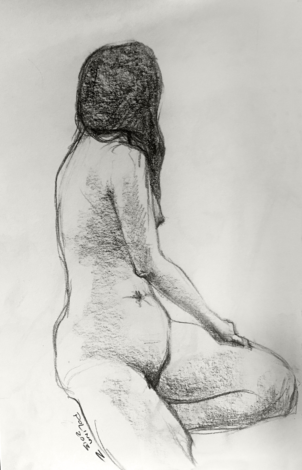 Полина Зайцева Иллюстрация   Polina Zaitseva Illustration  Figure Drawing