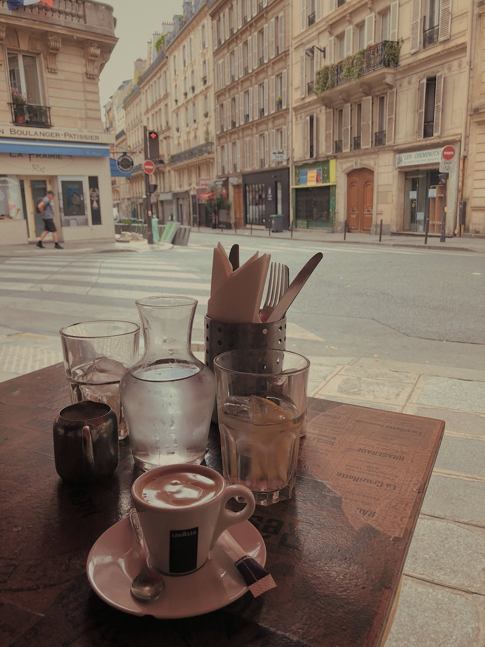 Parisian breakfast is the best breakfast. Nothing with espresso.