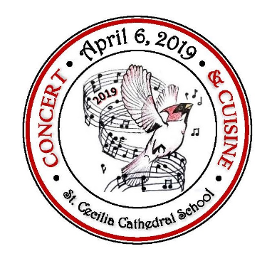View the 2019 Concert & Cuisine Video:    click here