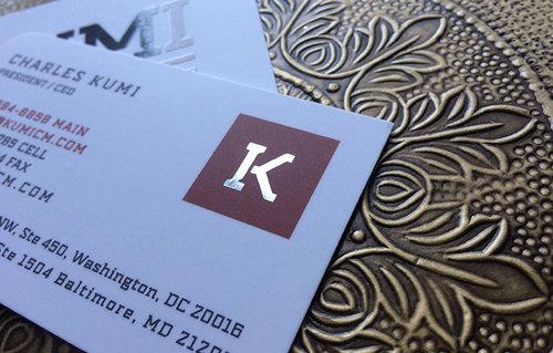 Foil business cards bizgoprint foil business cards reheart Images