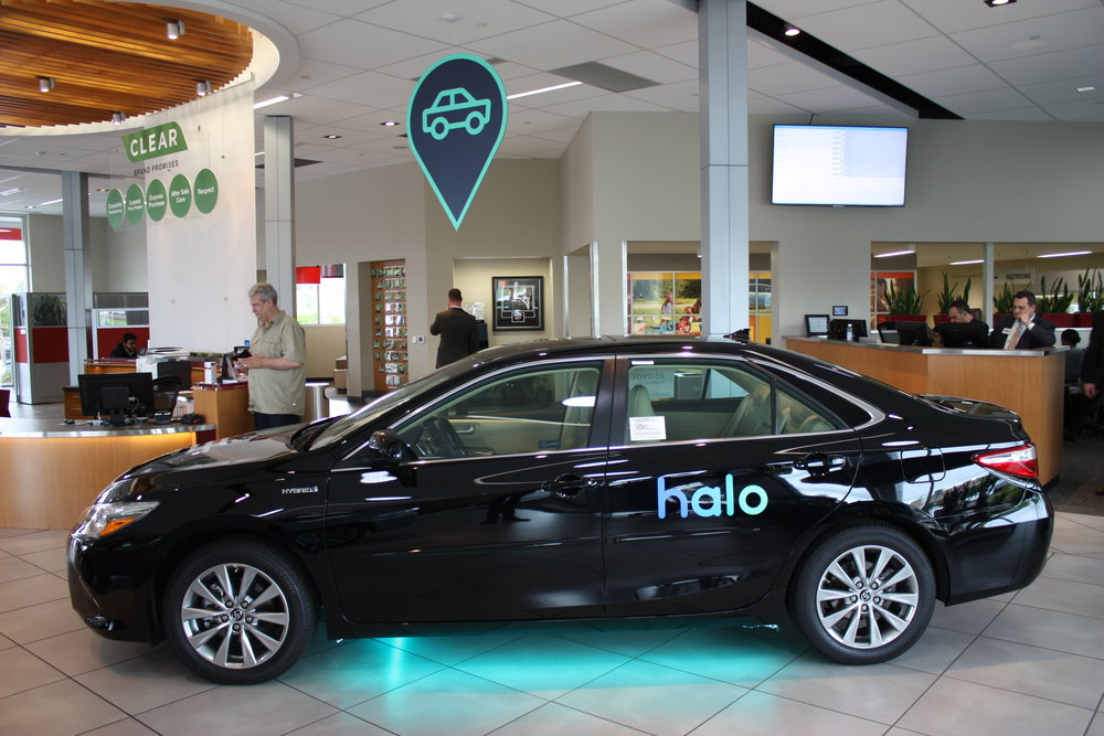 We also tricked out one of the cars on their showroom,