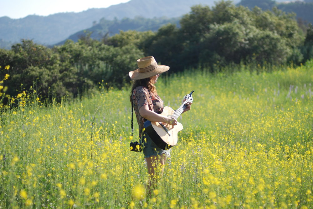 Photo by Mikki Sage ~ Captured in the Wild Flowers of Topanga