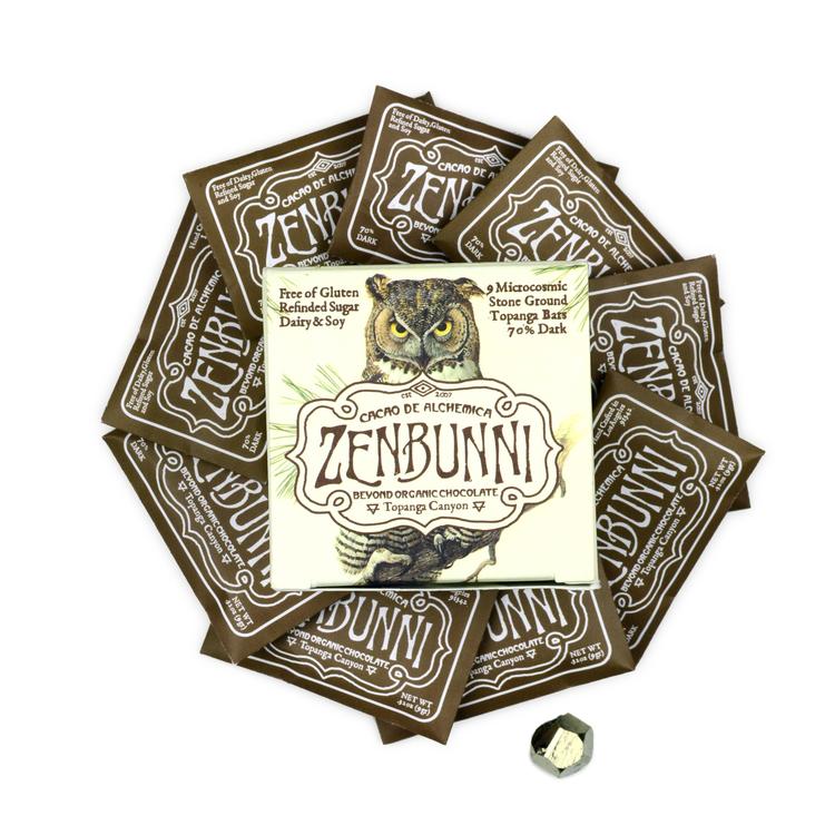 Topanga locals ZenBunni will be joining us! So special!!  ZenBunnchocolate.com