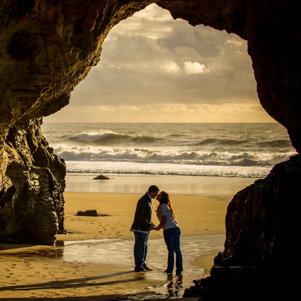 Panther Beach, a hidden gem in Santa Cruz, California