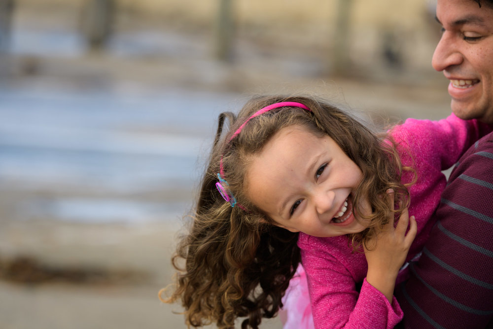 Capitola Beach family photos - by Bay Area portrait photographer Chris Schmauch