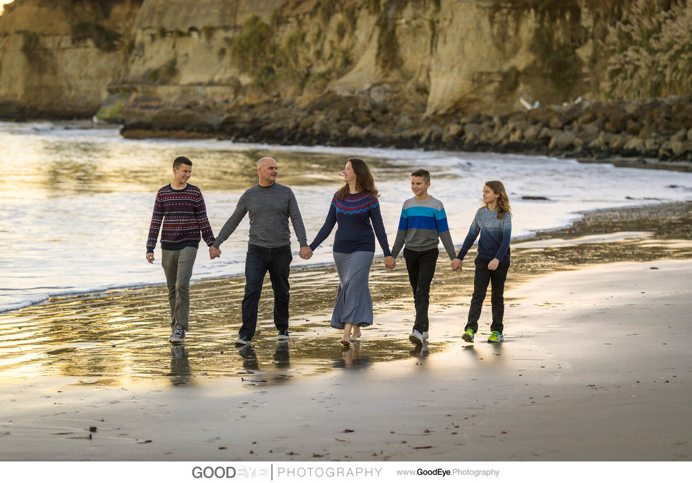 Capitola Beach family photos - by Bay Area family photographer C