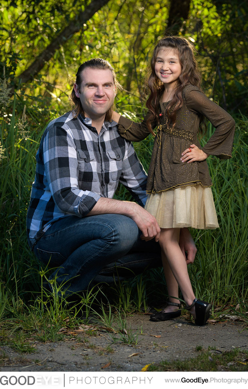 Family photos at Quail Hollow Ranch in Felton, California - phot