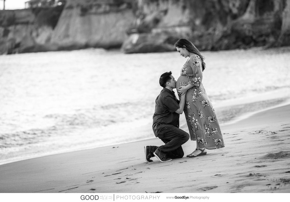 Capitola Beach Maternity Photos - by Bay Area portrait photograp