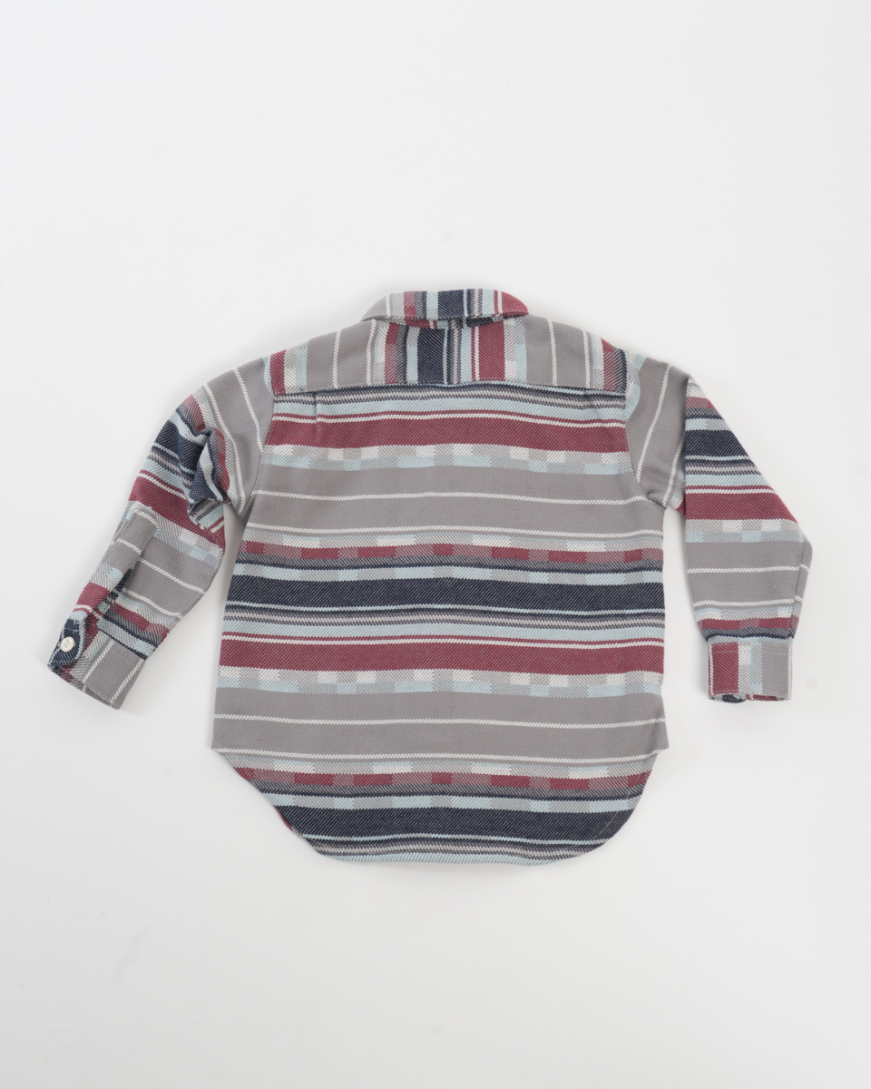 Kids Baby Shirt - Plaid Stripe back.jpg