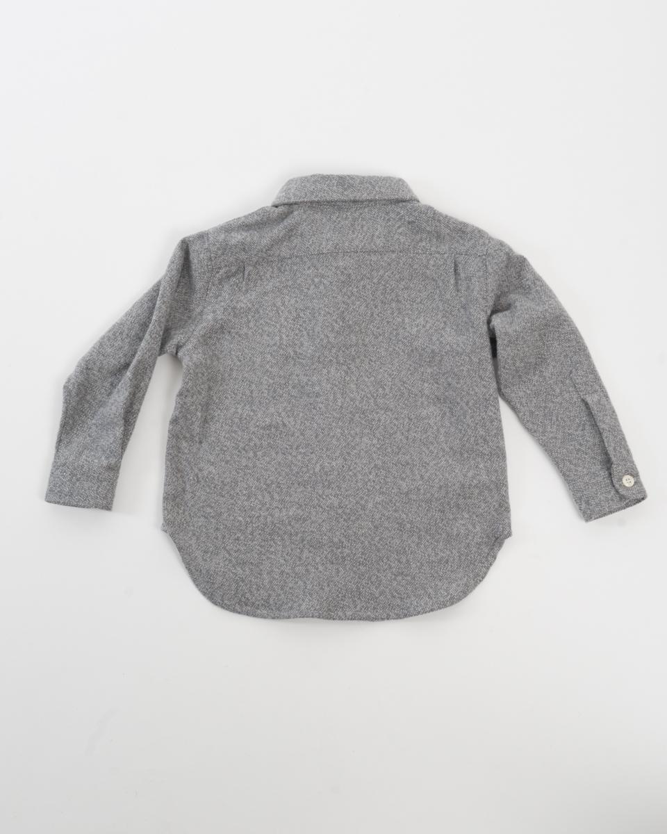 Kids Baby Shirt - Soft Grey Flannel back.jpg
