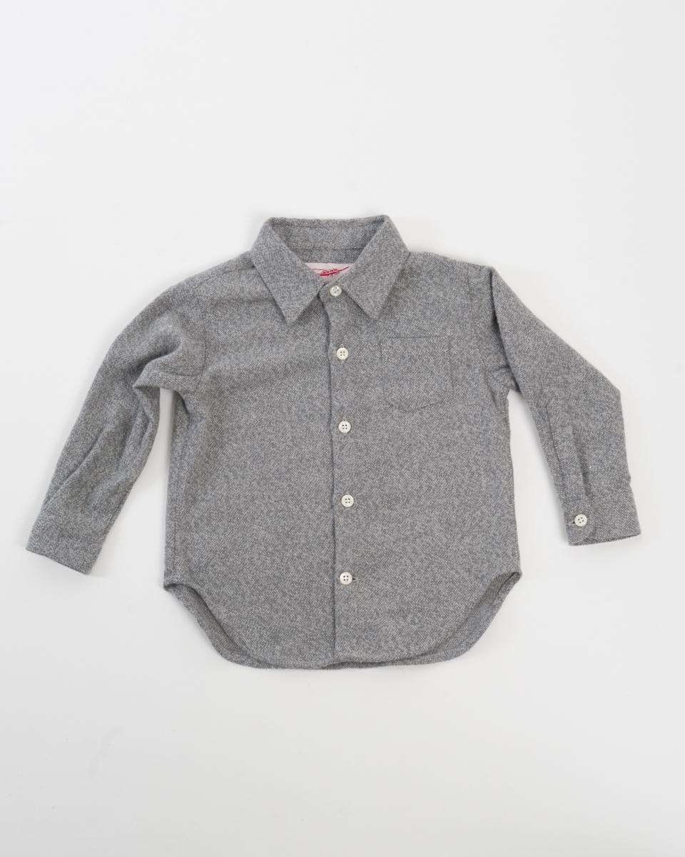 Kids Baby Shirt - Soft Grey Flannel front.jpg