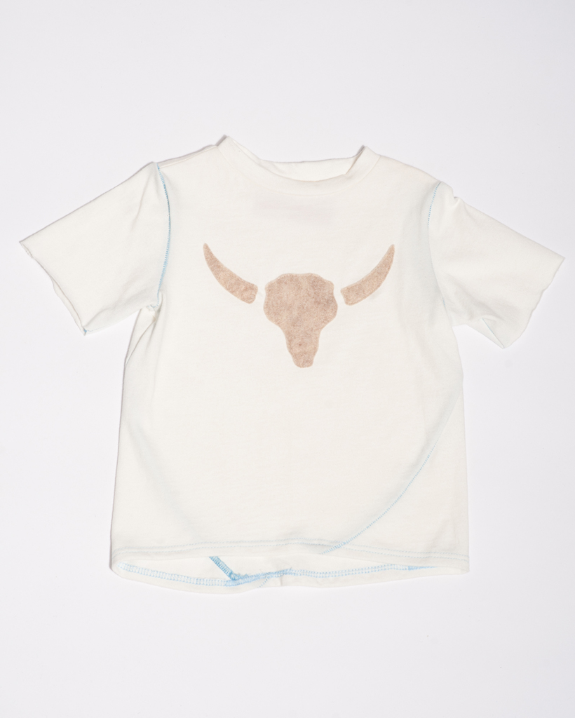 T-Shirt_ Cow Skull applique .jpg