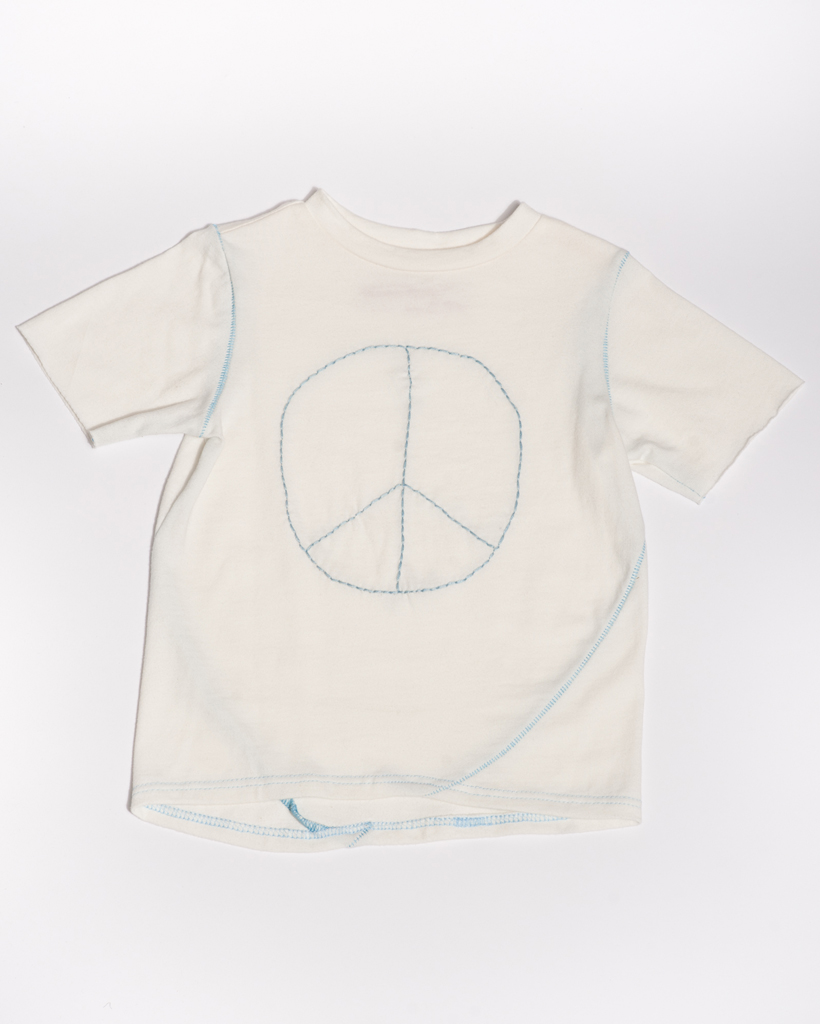 T-Shirt_Peace Emroidered.jpg