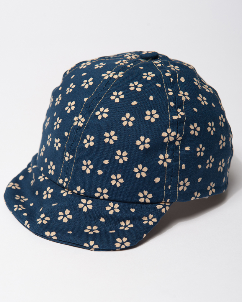 Cap_ Navy wCream Flowers.jpg