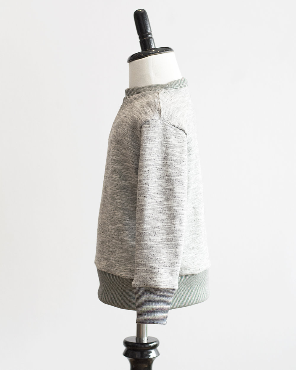 Kids Grey Melange French Terry Sweater Side FW17.jpg