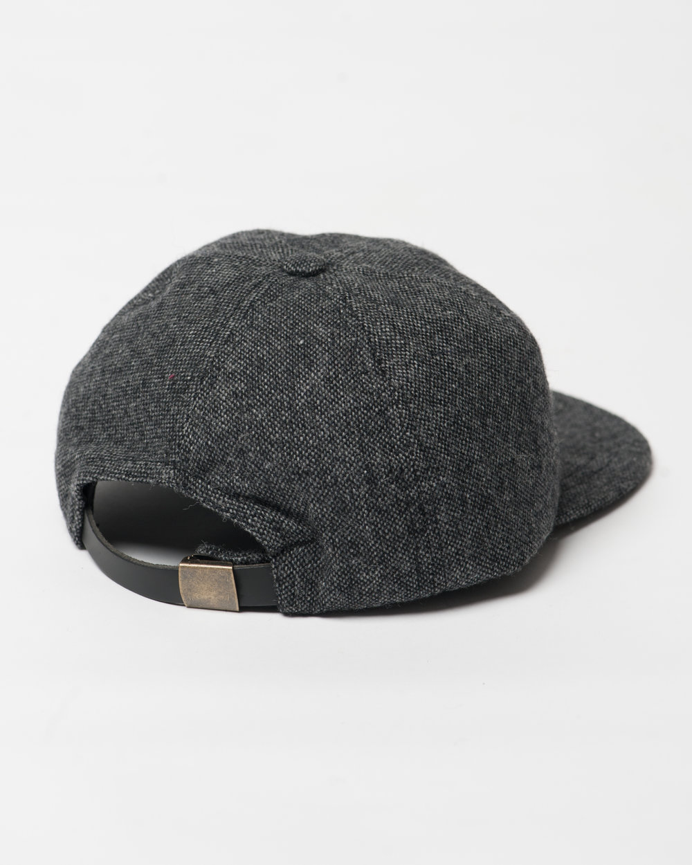 Kids Black Mix Wool Cap Back FW17.jpg