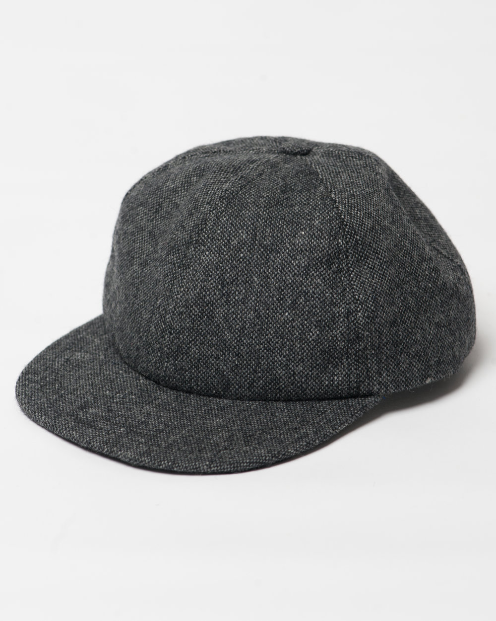 Kids Black Mix Wool Cap Front FW17.jpg