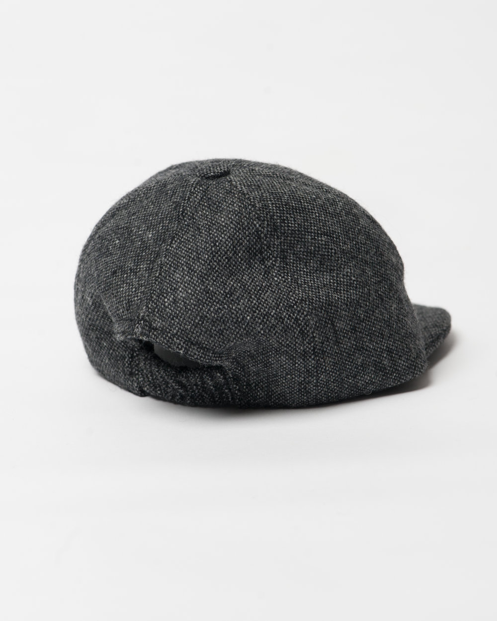 Kids Black Mix Wool Infant Cap Back FW17.jpg