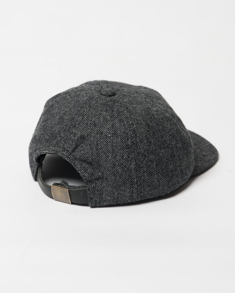 Kids Black Mix Wool Toddler Cap Back FW17.jpg